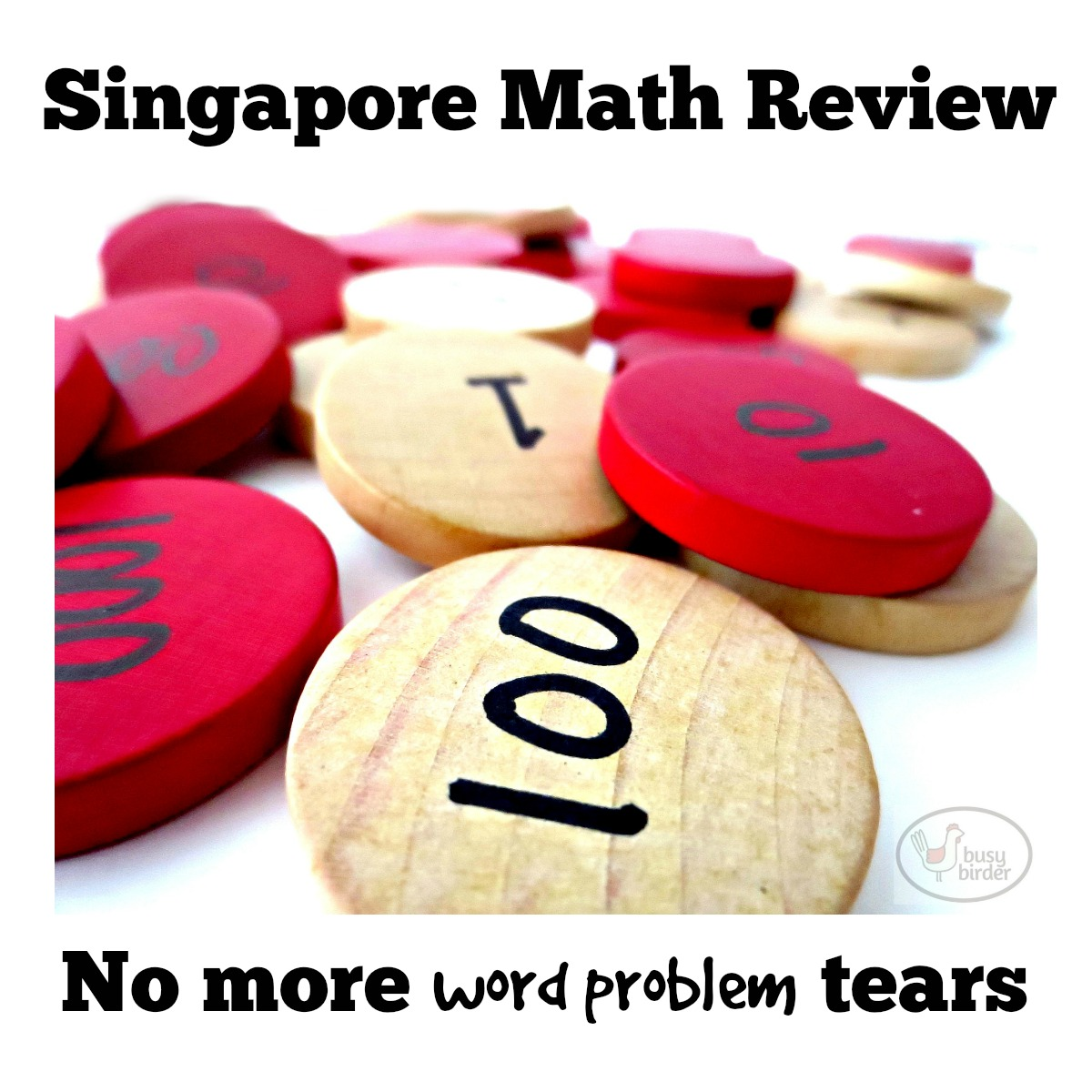 Review of Singapore Math: No more tears for word problems
